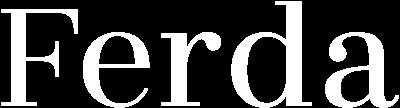 Ferda for You Logo Weiss